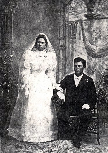 Marriage Photo - George Harper and Marian Zachariasen