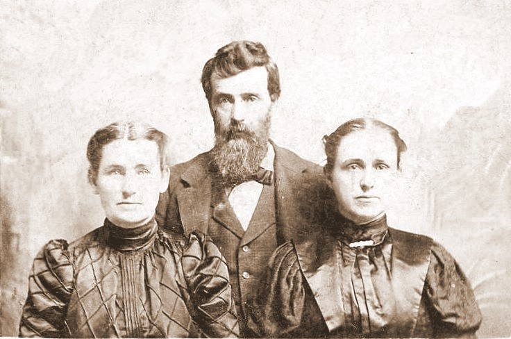 William and Sarah Johnson-Doolin, with sister Anna Johnson-Doolin
